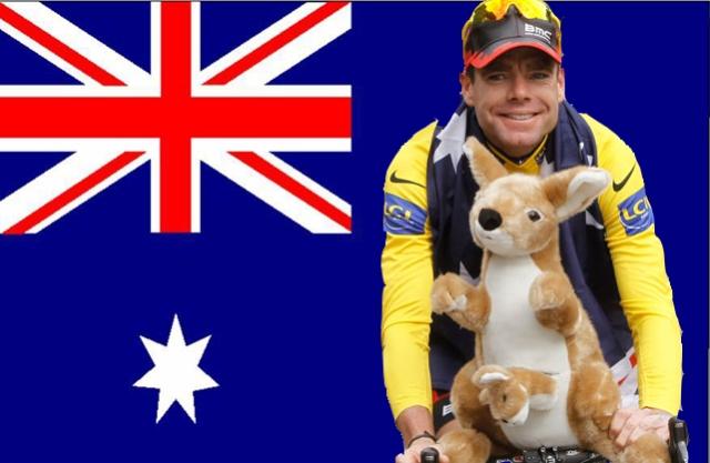 Cadel Evans Aussie